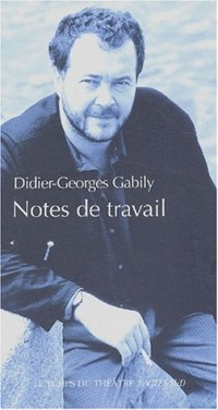 Notes de travail : 1986-1996