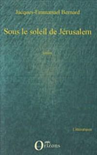Sous le soleil de Jérusalem