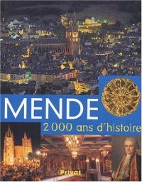 Mende : 2000 ans d'histoire