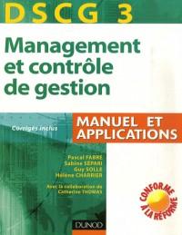 DSCG 3 Management et contrôle de gestion