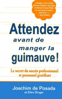 Attendez avant de manger la guimauve ! : Le secret du succès professionnel et personnel gratifiant