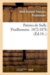 Poesies de Sully Prudhomme  ed 18