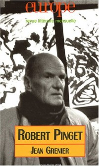 Europe, numéro 897-898 - Janvier-Février 2004 : Robert Pinget, Jean Grenier