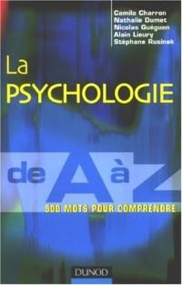La psychologie de A à Z