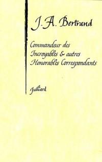 Commandeur des Incroyables et autres Honorables Correspondants
