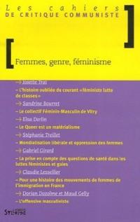 Femmes, genre, féminisme