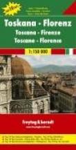 Carte routière : Toscane - Florence