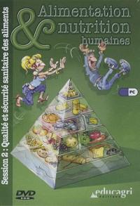 Qualite et Securite Sanitaire des Aliments (Session 2)