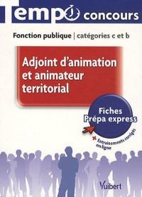 Adjoint d'animation et animateur, catégories C & B