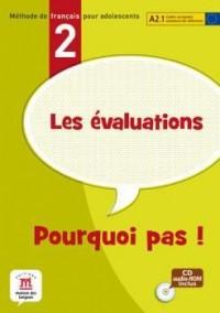 Evaluations de Pourquoi Pas A2! Livre + CD ROM