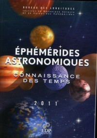 Ephemerides Astronomiques 2011