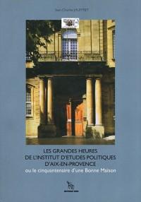 Gdes Heures Inst E Pol Aix Provence