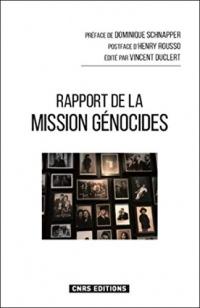 Rapport de la mission Génocides
