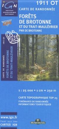 Forets De Brotonne Et Du Trait-Maulevrier PNR GPS: Ign.1911ot