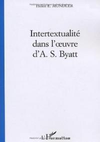 Intertextualité dans l'oeuvre d'A.S. Byatt