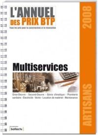 Annuel des Prix Btp Multiservices, Collection Artisans 2008