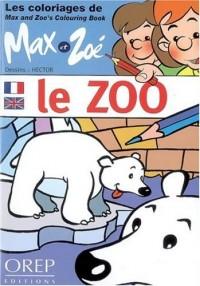 Les coloriages de Max et Zoé : le Zoo