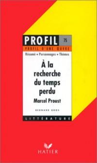 A la recherche du temps perdu, Proust : Analyse critique