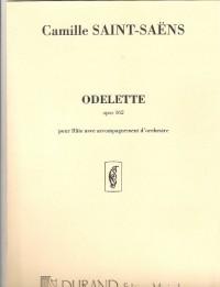 ODELETTE opus 162 pour Flûte avec accompagnement d'orchestre (piano)