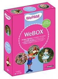 Webox : 10 idées figurines à modeler soi-même : Avec 2 boîtes de WePam (6 couleurs différentes) et 1 moule tête et mains