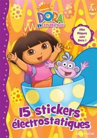 Dora l'exploratrice : 15 stickers électrostatiques