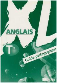 XL : Anglais, terminale (Manuel du professseur) (7.50 euro jusqu'au 31 décembre 2003 puis 15.00 euro)