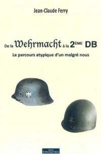 De la Wehrmacht a la Deuxième Db