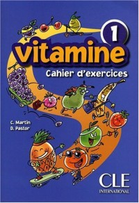 VITAMINE NIVEAU 1 EXERCICES + CD AUDIO (METHODE POUR ENFANTS)