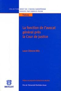 La fonction de l'avocat général près la Cour de justice