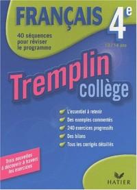 Tremplin Collège : Français, 4e - 13-14 ans