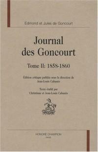 Journal des Goncourt : Volume 2, 1858-1860