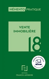 MEMENTO VENTE IMMOBILIERE 2018