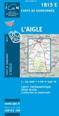 Carte de randonnée : L'Aigle (Est)