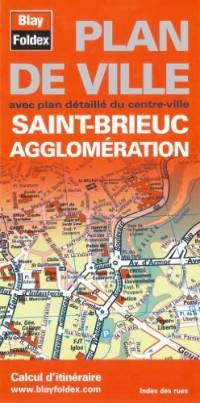 Plan de Saint-Brieuc et de son agglomération