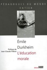 L'éducation morale