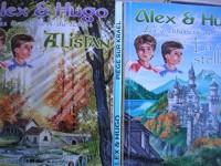 dominique lin - lot 3 livres collection alex et hugo les aventuriers du temps : la carte stéllaire - alistan - piege pour krael