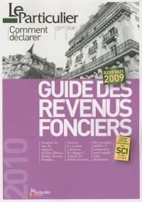 Guide des revenus fonciers 2009
