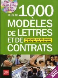 Plus de 1000 Modeles de Lettres et de Contrats 2012
