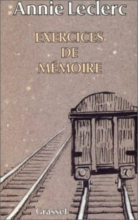 Exercices de mémoire
