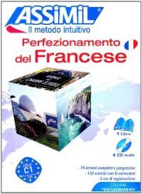 Perfezionamento des Francese : pack CD (livre + 4 CD)