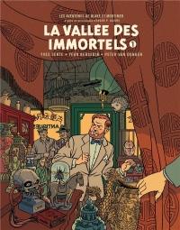 Blake et Mortimer - Blake & Mortimer - Tome 25 - La Vallée des Immortels - Tome 1 - Édition Biblio