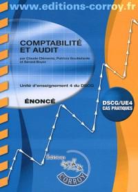 Comptabilite et Audit Enonce - Ue 4 du Dscg (Pochette)