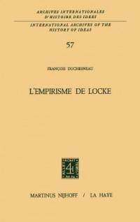 L'Empirisme de Locke