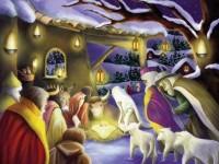 Calendrier de l Avent Noël a la Creche Evangelisti