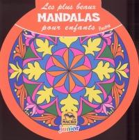 Les plus beaux Mandalas pour enfants - Fleurs