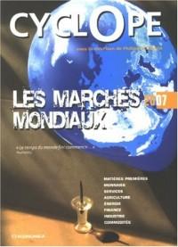 Les marchés mondiaux