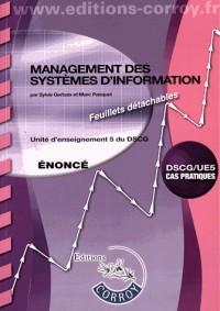 Management des Systemes d'Information Enonce