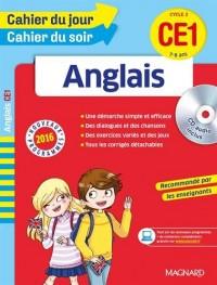 Cahier du jour/Cahier du soir Anglais CE1 - Nouveau programme 2016