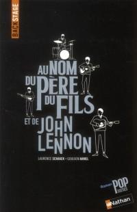 Backstage au Nom du Pere  du Fils et de John Lennon
