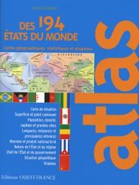 Atlas des 194 états du monde : Statistiques et drapeaux